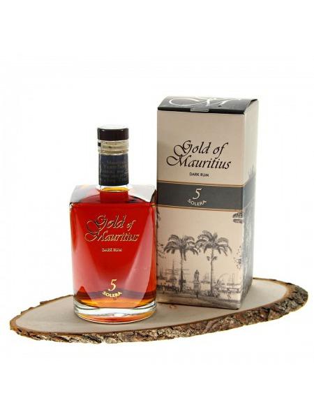 Gold of Mauritius Rum Dark Rum 5y Solera Mauritius