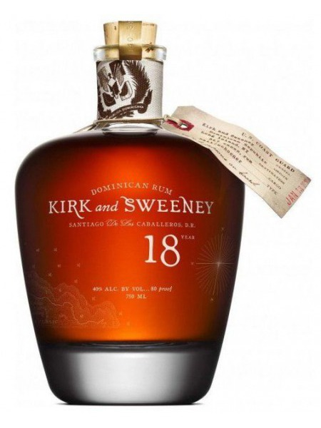 Kirk and Sweeney Rum 18yo Dominicana