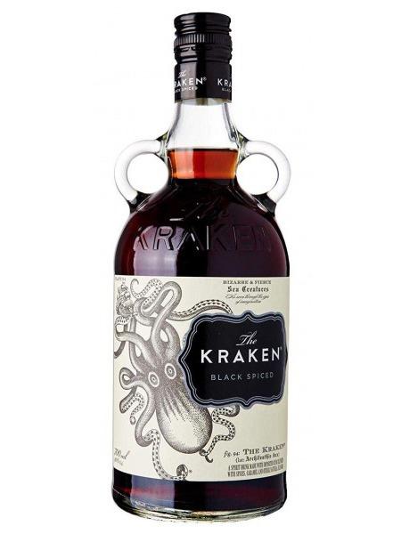 Kraken Rum Black Spiced Trinidad Tobago 1l
