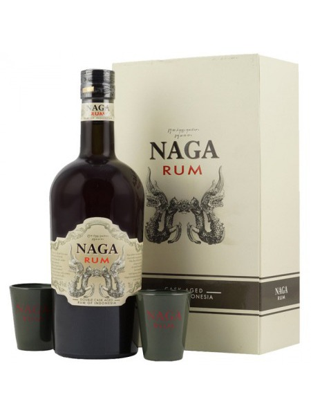 Naga Rum Indonesia Gift Box 2x sklenice