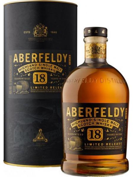 Aberfeldy Whisky 18yo Highland 1l
