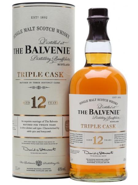 Balvenie Whisky Triple Cask 12yo Speyside 1l