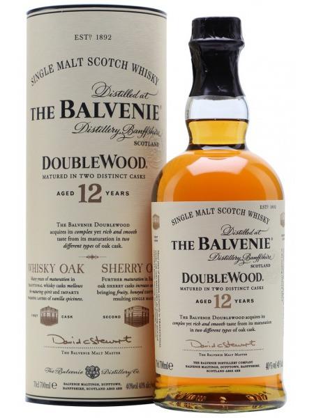 Balvenie Whisky 12yo Double Wood Speyside