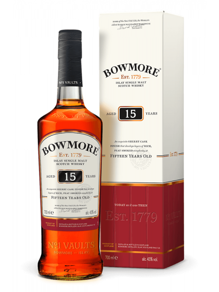 Bowmore Whisky 15yo Islay 1l