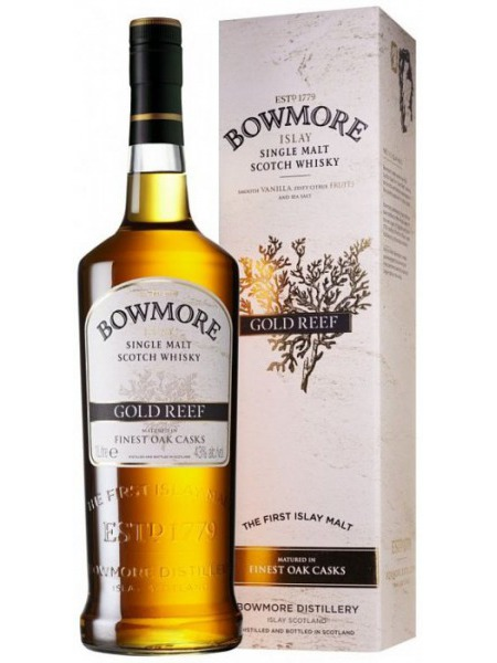 Bowmore Whisky Gold Reef Islay 1l