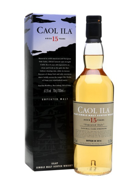 Caol Ila Whisky 15yo Unpeated Islay