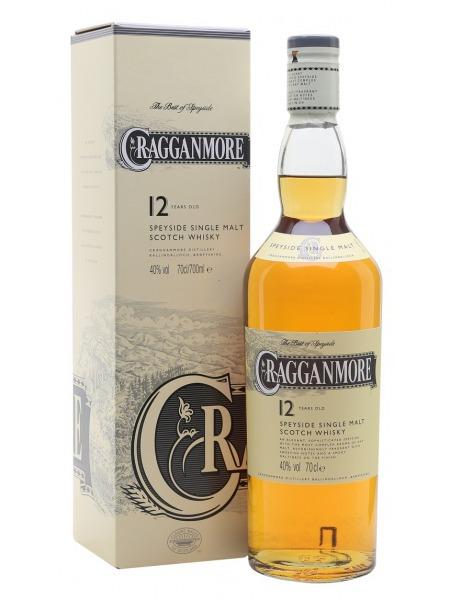 Cragganmore Whisky 12yo Speyside 0,2l mini
