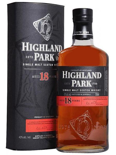 Highland Park Whisky 18yo Orkney