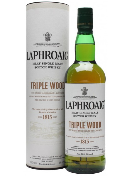 Laphroig Whisky Triple Wood Islay