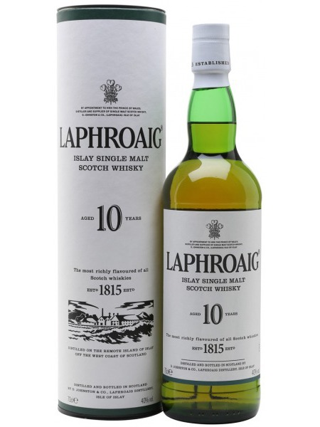 Laphroig Whisky 10yo Islay