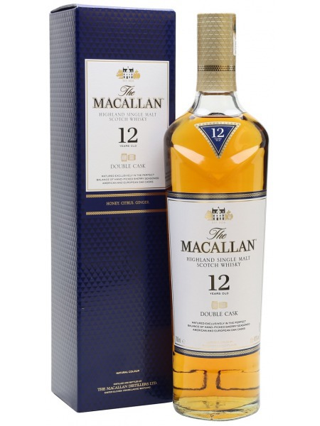 Macallan Whisky 12yo Double Cask Speyside