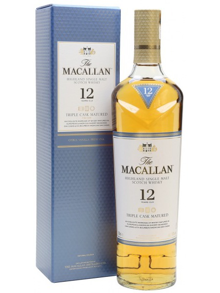 Macallan Whisky 12yo Fine Oak Speyside