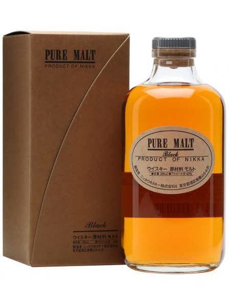 Nikka Whisky Pure Malt Black Japan 0,5l