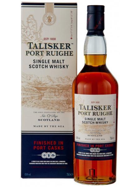 Talisker Whisky Port Ruighe Skye