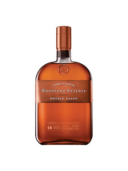 Woodford Reserve Bourbon Kentucky Doubble Oaked 1l