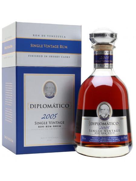 Diplomatico Rum Single Vintage 2005 Venezuela