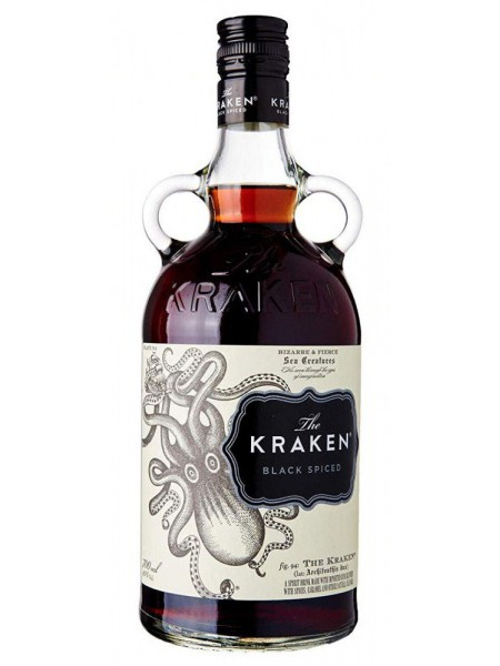 Kraken Rum Black Spiced Trinidad Tobago 0,05l mini