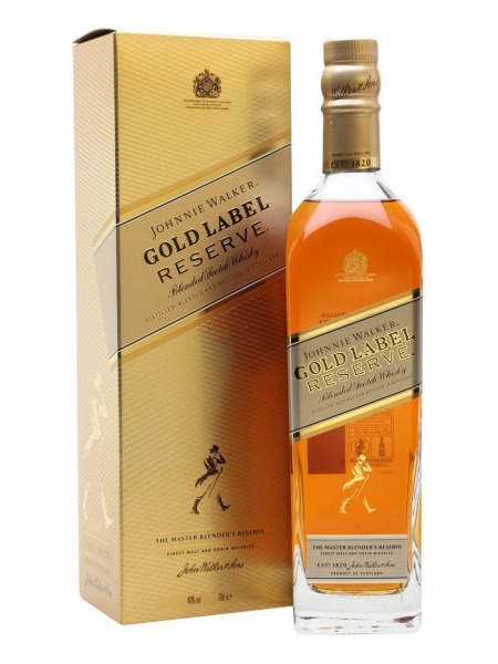 Johnnie Walker Whisky Blended Gold Label