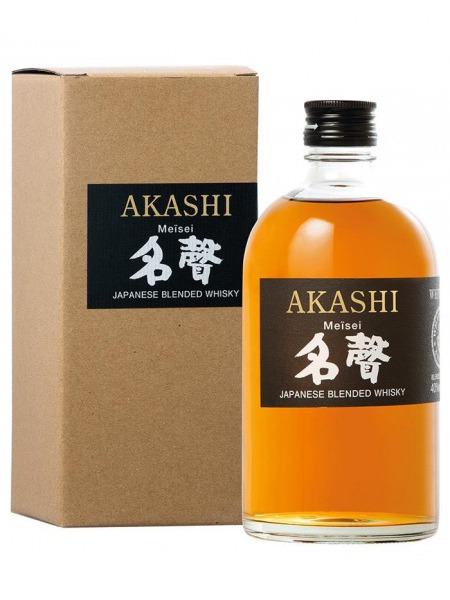 Akashi Whisky Blended Oak Meisei Japan
