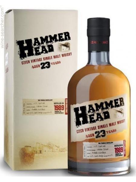 Hammer Head Whisky 23yo Czech