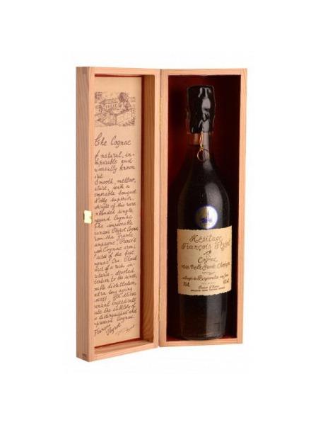 Francois Peyrot Cognac Heritage 60yo Grande Champagne Wooden Box