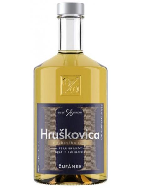 Zufanek Hruskovica z duboveho sudu 0,1l mini