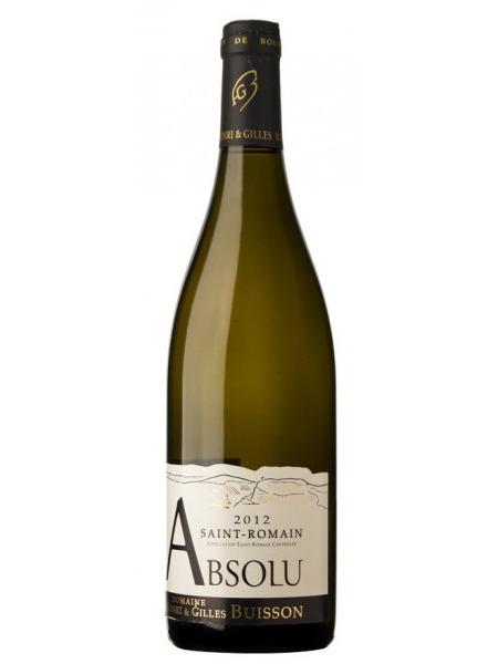 Domaine Buisson Saint Romain Absolu 2015 Blanc Bourgogne