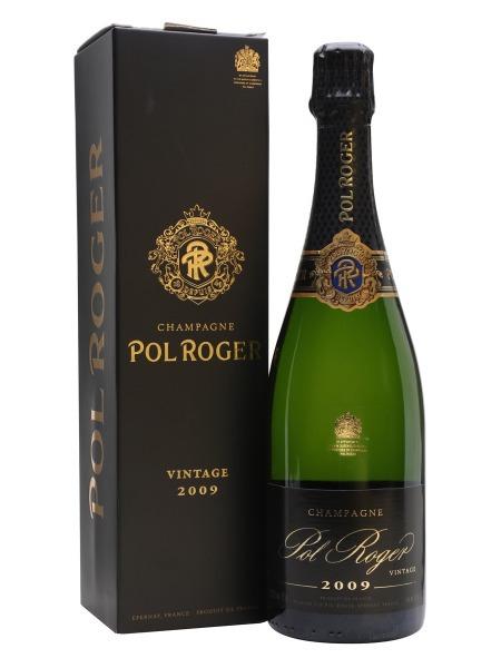 Pol Roger Champagne Vintage 2009 Brut paper box