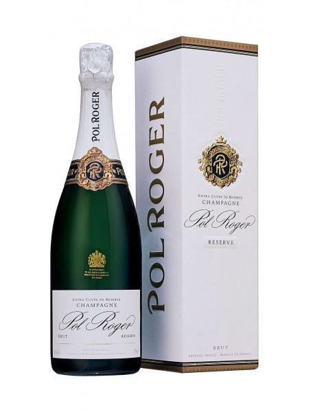 Pol Roger Champagne Reserve Brut paper box