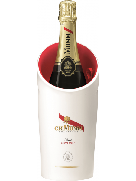 Mumm Champagne Cordon Rouge Brut Ice Box