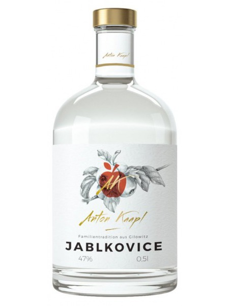 Anton Kaapl Jablkovice 0,05l mini
