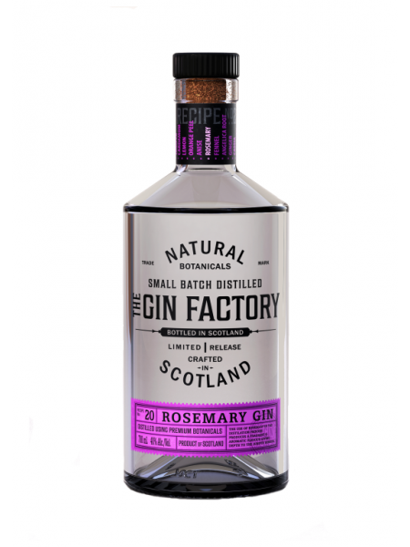 The Gin Factory Gin Rosemary Natural Scotland