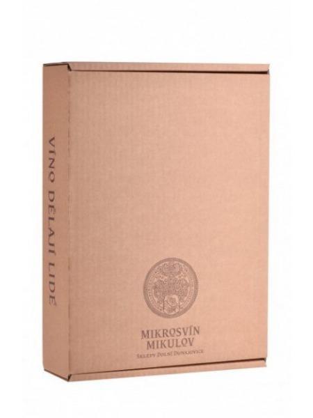 Mikrosvín Box papir na 3 lahve