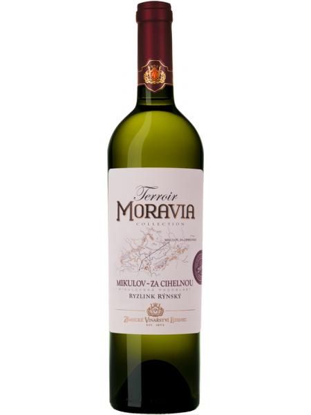 Zámecké vinařství Bzenec Ryzlink rynsky Terroir Za cihelnou polosuche 2017