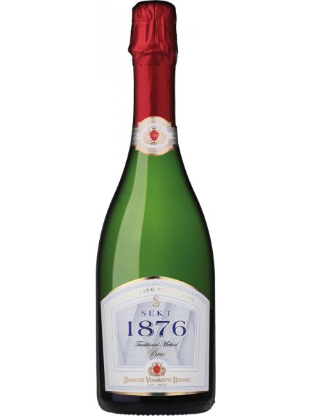Zámecké vinařství Bzenec Sekt 1876 brut 2013