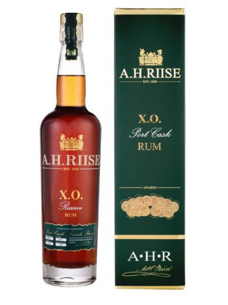 A.H. Riise Rum XO Port Cask Virgin Islands
