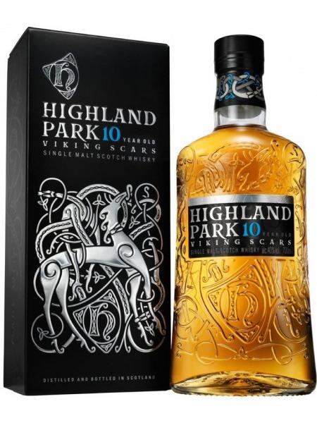 Highland Park Whisky 10yo Viking Scars Orkney