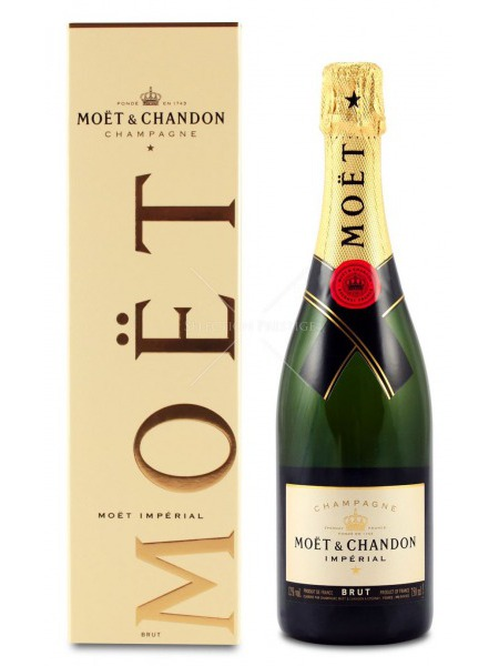 Moet & Chandon Champagne Imperial Brut paper box