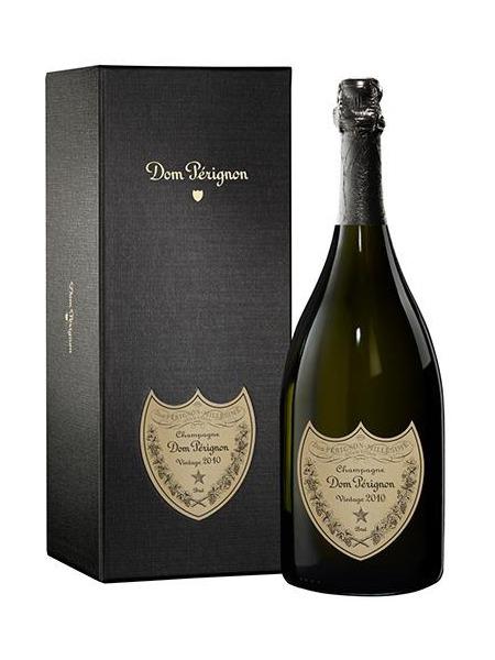 Dom Perignon Champagne 2010 Brut paper box