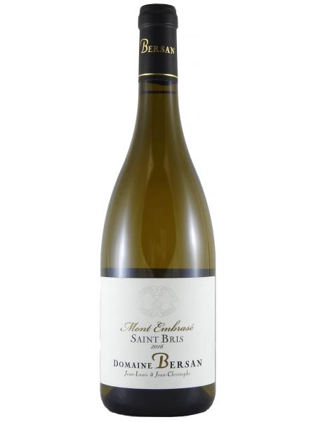 Domaine Bersan Saint Bris Sauvignon Blanc Mont Embrase 2018