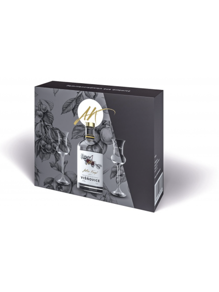 Anton Kaapl Darkovy box visnovice 0,5l 2 sklenice