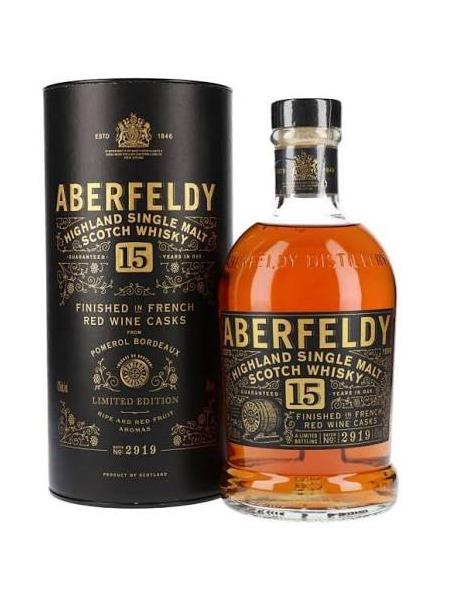 Aberfeldy Whisky 15yo Highland