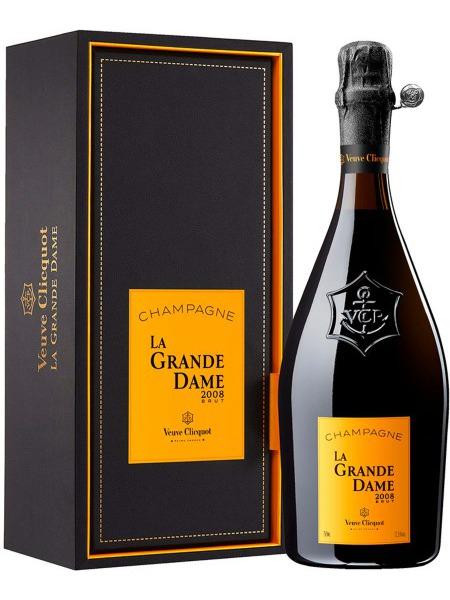 Veuve Clicquot Champagne La Grande Dame 2008 Brut