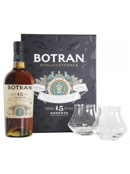Botran Rum 15 Solera Gift Box 2 sklenice