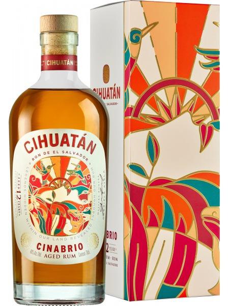 Cihuatán Rum 12yo Cinabrio El Salvador