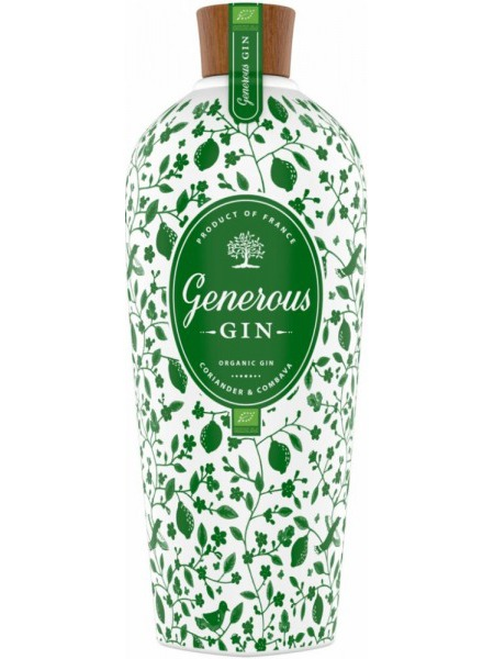 Generous Gin Gin Organic France
