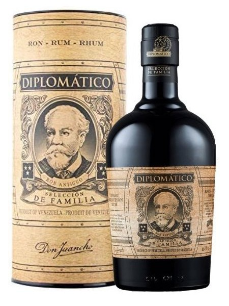 Diplomatico Rum Seleccion de Familia Venezuela Box Tuba