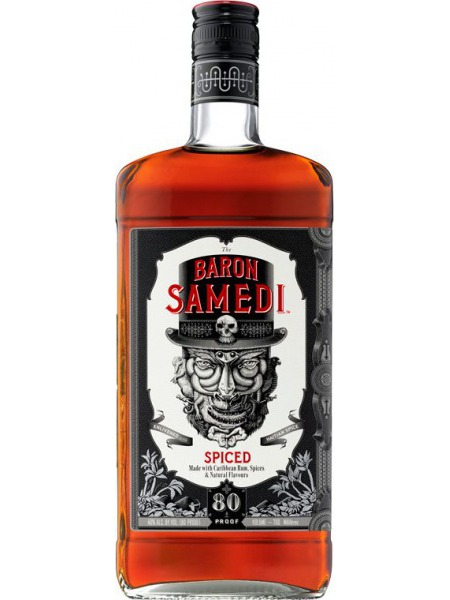 Baron Samedi Rum Spiced 80 Proof Caribbean