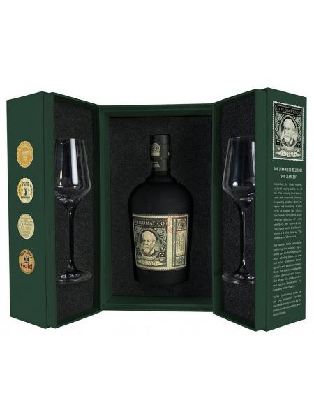 Diplomatico Rum Reserva Exclusiva Venezuela Ritual Box 2x sklenice