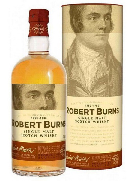 Arran Distillery Whisky 5yo Robert Burns Isle of Arran